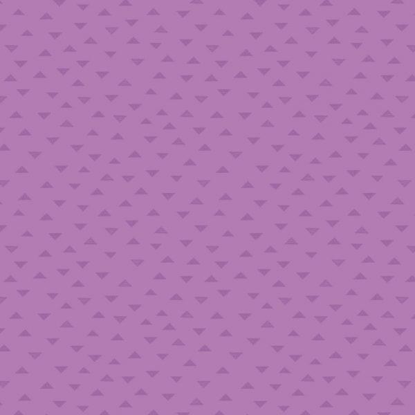 Dark Lavender Tiny Triangles