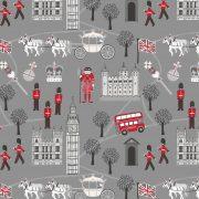 Royal Britannia on grey