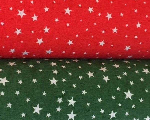 Little-Stars-Red-or-Green-Polycotton-by-the-half-metre-253224354531