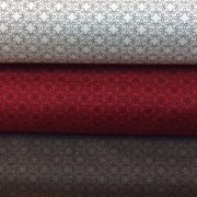 Modern-Melody-Lace-Print-Red-White-or-Grey-100-Cotton-by-the-half-metre-263426107141
