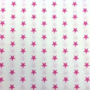 Variation-of-Pink-and-White-Stars-100-Cotton-fabric-by-the-half-metre-263310622371-4652