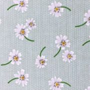 Variation-of-Daisy-Polycotton-Green-Blue-or-Lilac-45quot-wide-fabric-by-the-half-metre-253222375263-762c