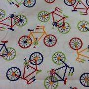 Bike-Print-100-Cotton-fabric-by-the-half-metre-263283009565