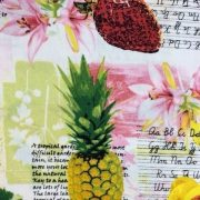Tropical-Fruits-100-Cotton-fabric-by-the-half-metre-253228815515-2