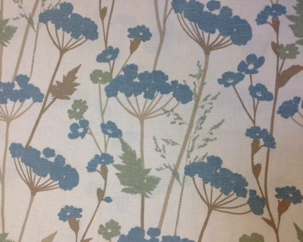 Heavy-Weight-Cotton-Blue-Flowers-fabric-by-the-half-metre-263287654147