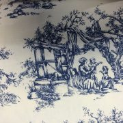 Heavy-Weight-Cotton-Vintage-Scenes-Fabric-by-the-half-metre-253233688357