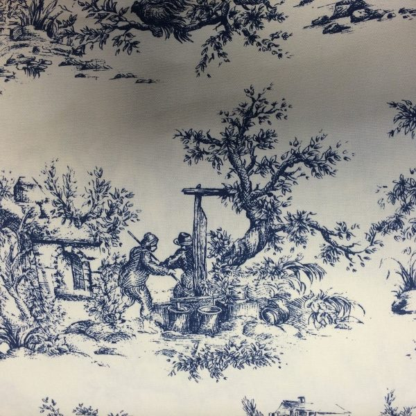 Heavy-Weight-Cotton-Vintage-Scenes-Fabric-by-the-half-metre-253233688357-2