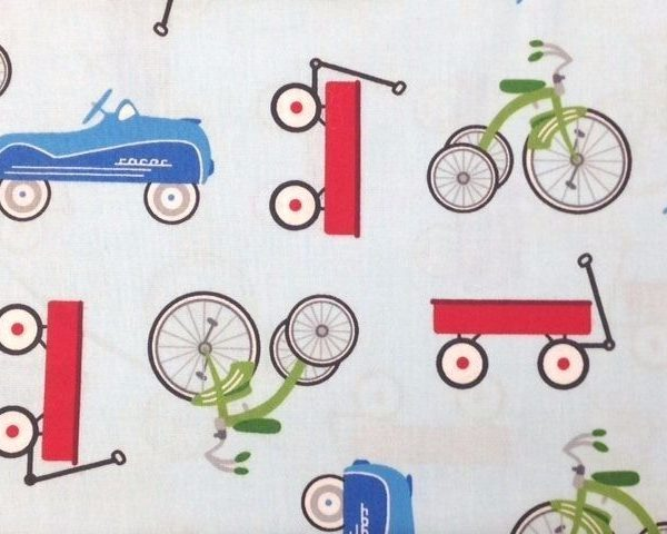 Anbo-Retro-Racers-100-Cotton-fabric-by-the-half-metre-253265363078