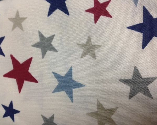 Heavy-Weight-Cotton-Nautical-Stars-fabric-by-the-half-metre-253233688369