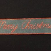 Variation-of-039Merry-Christmas039-Wire-Edged-Gauze-Ribbon-Red-Gold-or-Silver-by-the-metre-253350291129-b664